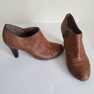 Geox/ Brown Booties/ Size 37